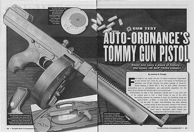 Auto-Ordnance's Tommy Gun Pistol - Auto-Ordnance | Original