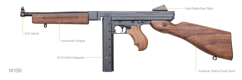 Thompson SBRs - Auto-Ordnance   Original manufacturer of the