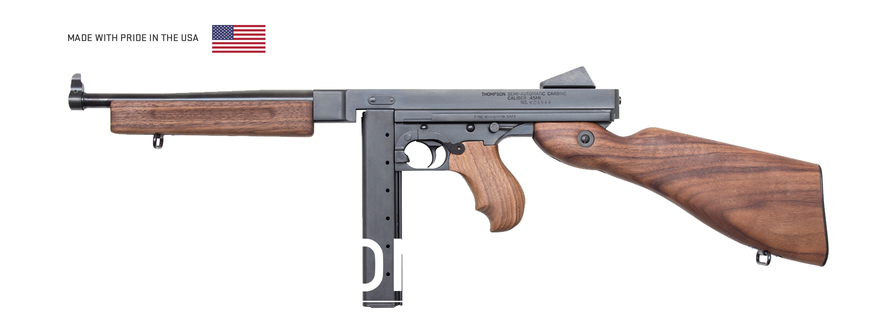 Thompson SBRs - Auto-Ordnance | Original manufacturer of the world