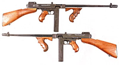 b93134b1fb55 Earlier semi-auto Thompsons suffered from excessive parts. The Kahr  carbines are made on modern machinery using CNC technology.