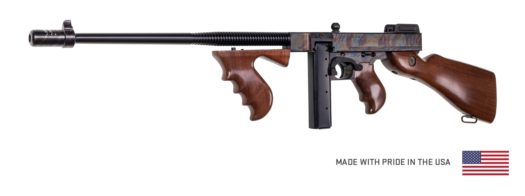 Case Hardened Thompson - Auto-Ordnance | Original