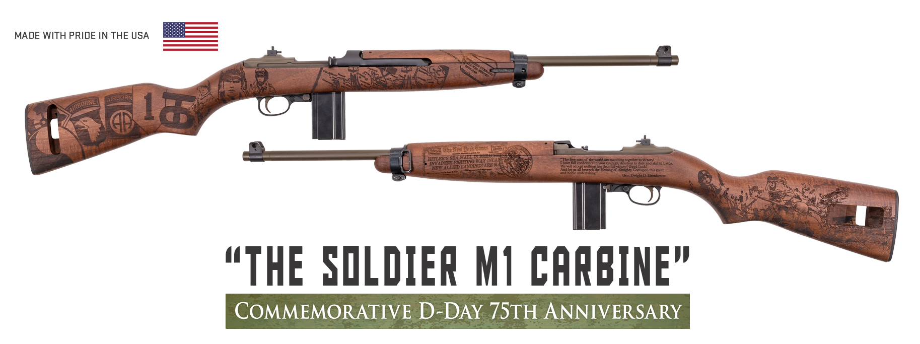Soldier M1 Carbine - Auto-Ordnance | Original manufacturer