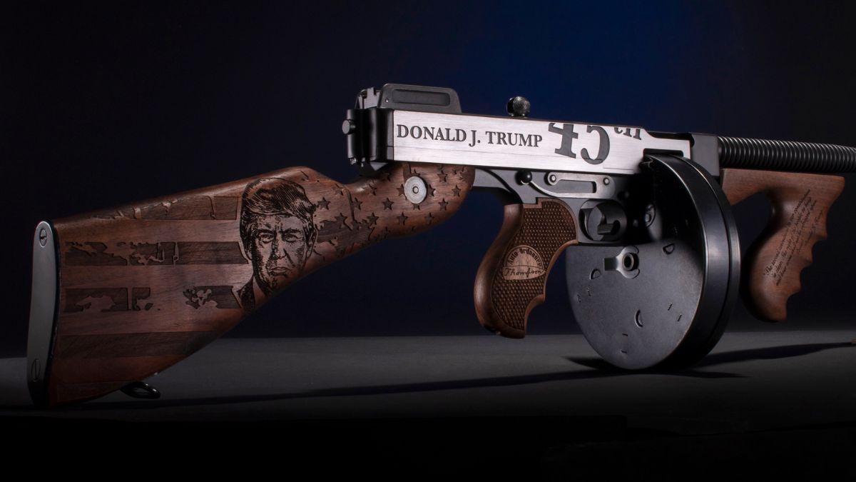 Trump Thompson - Auto-Ordnance | Original manufacturer of the world